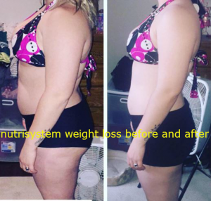nutrisystem results before and after